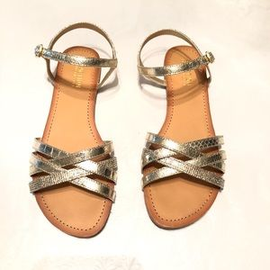 Kenneth Cole Just New Women's Gold Sandal - 7.5